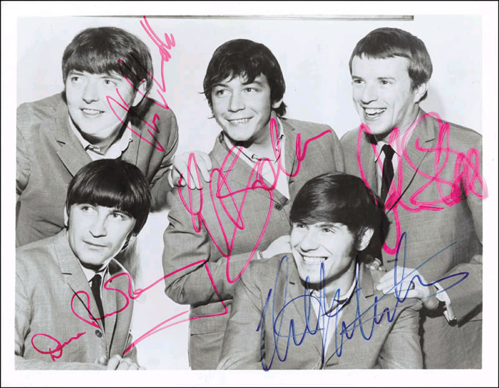 The Animals Autograph