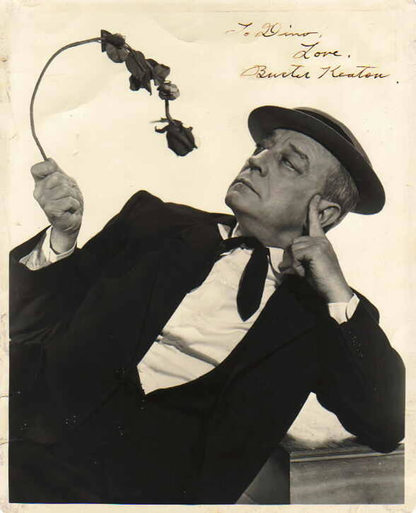 Buster Keaton Autograph