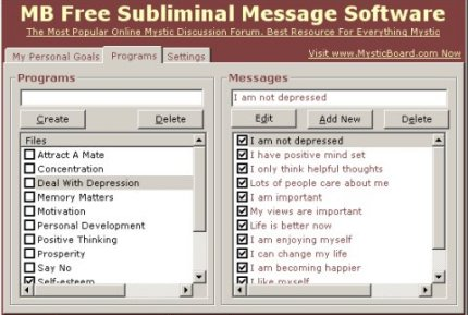 Download Subliminal Messages Program